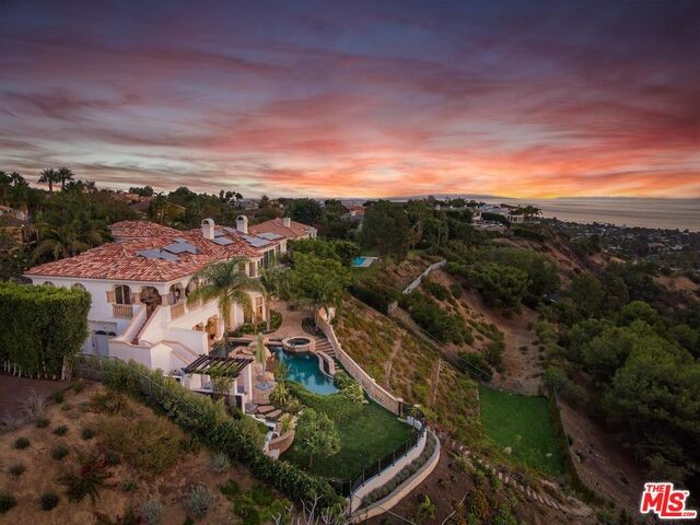 Single Family Home for Sale at 16300 Shadow Mountain Drive Pacific Palisades, California 90272 United States