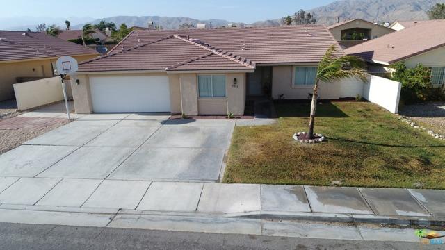 Photo of home for sale at 65852 Estrella Avenue, Desert Hot Springs CA
