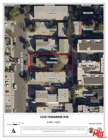 1230 TAMARIND Avenue #  Los Angeles CA 90038