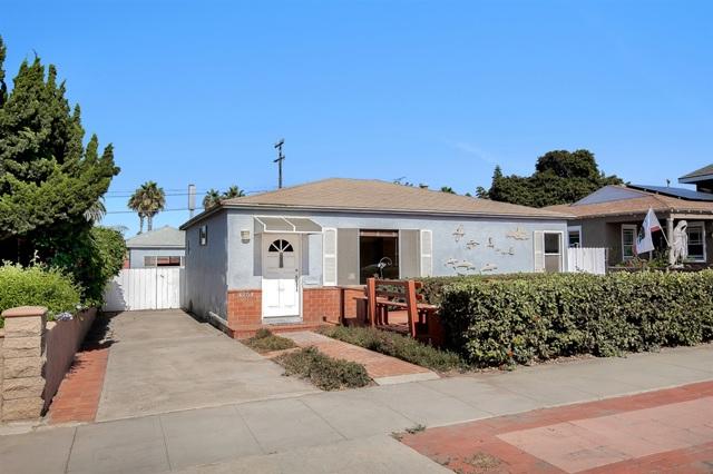 4754 Adair St.  San Diego CA 92107