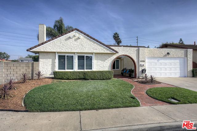 Single Family Home for Sale at 18380 Santa Belinda Fountain Valley, California 92708 United States