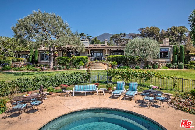 Photo of home for sale at 665 PICACHO Lane, Santa Barbara CA