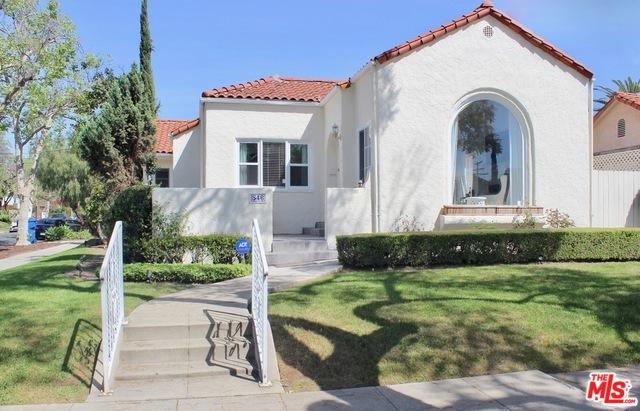 546 N MARTEL Avenue #  Los Angeles CA 90036