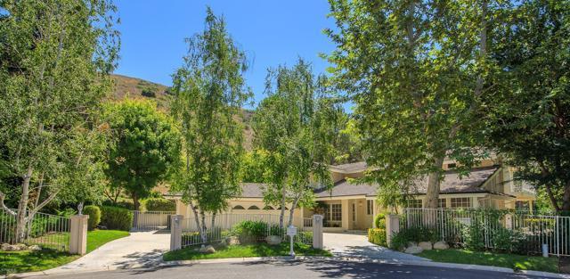 Photo of home for sale at 4098 Skelton Canyon Circle, Westlake Village CA