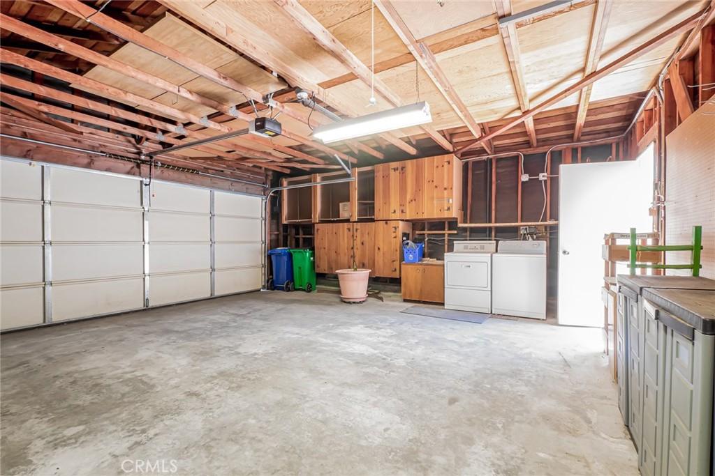 Door from Patio into Garage