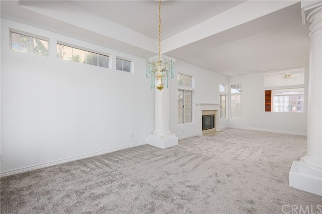 Formal Dining room that you step down into from the Formal living room.