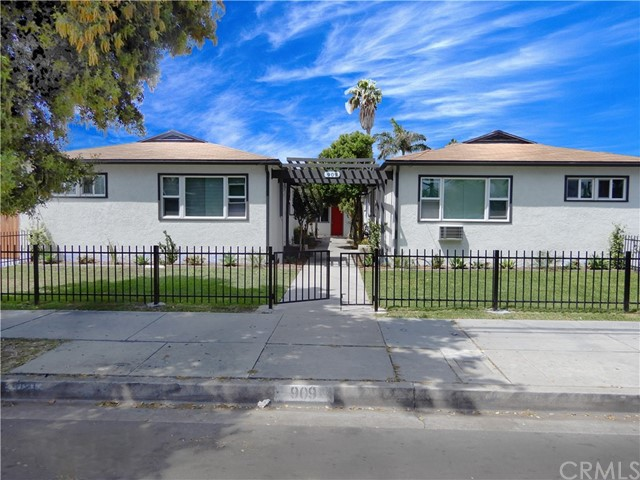 """We are pleased to offer 909 S. Lemon Street, a beautifully & thoroughly remodeled 7-unit apartment investment located in an """"Opportunity Zone"""". 909 S. Lemon Street has seen approximately $200,000 infused into renovations and upgrades which are highlighted below. These high-end finishes and quality improvements make this building one of the nicest and most upgraded properties currently available on the market, prime for the investor looking to produce immediate cash flow with minimal efforts. The fresh curb appeal from the new landscaping and its ideal proximity (approximately 1 mile) to Disneyland, Anaheim Convention Center, Downtown Disney as well as Downtown Anaheim, Anaheim Packing District and Anaheim Colony Historic District, makes attracting high-quality tenants at maximum rents a very simple task. This is an excellent investment opportunity to own a beautifully remodeled, single-story apartment complex in one of the strongest rental markets in the county. *5% CAP on Current Rents, *100% Rent Collections Since Start of COVID Pandemic, *Potential Financing Available with 30% Down Payment"""