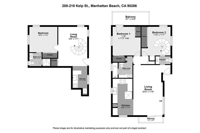 208 Kelp Street, Manhattan Beach, California 90266, ,For Sale,Kelp,SB21033116