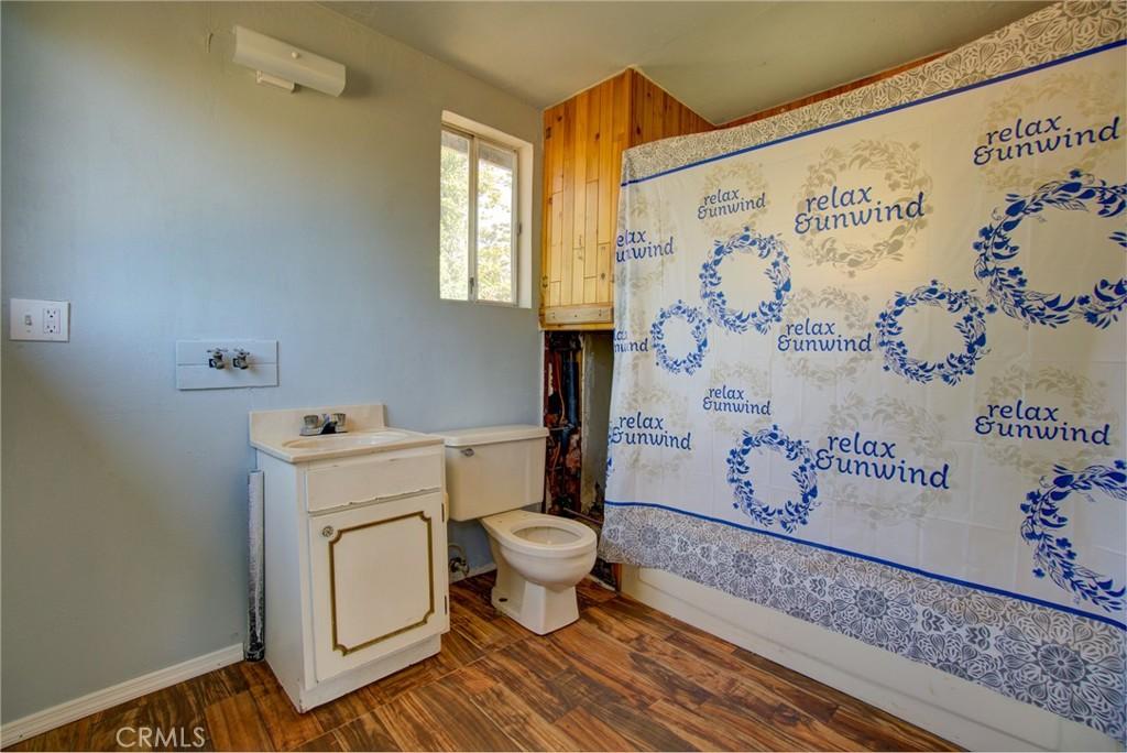Restroom in studio
