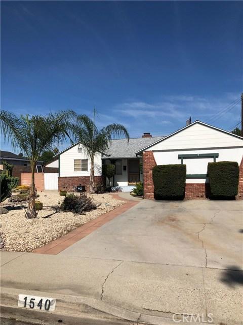 1540 N Caswell Avenue, Pomona, CA 91767