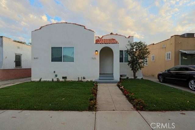 1638 W 64th St, Los Angeles, CA 90047