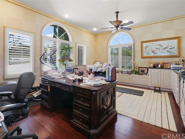 Main Level Guest Suite converted into an Office