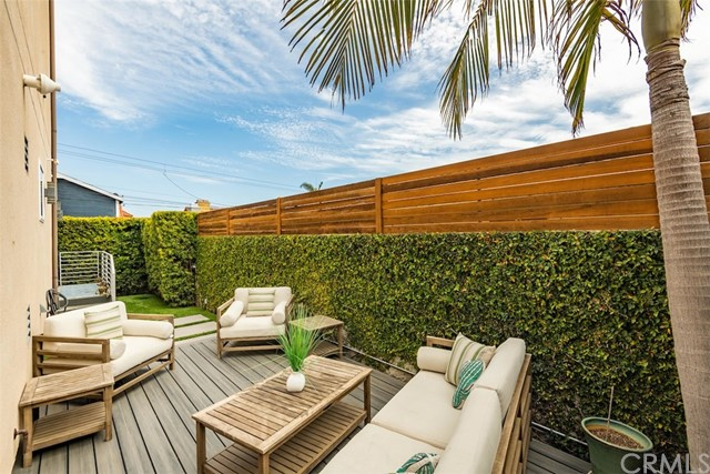 Your own personal retreat, the private backyard and deck are the perfect spot to sit back and unwind