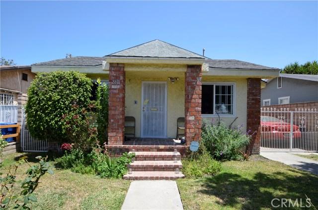2811 Rodeo Road, Los Angeles, CA 90018