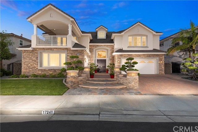 PLEASE COME TO OUR OPEN HOUSES DEC 14 AND 15 FROM 1 TO 4PM * PREMIUM VIEW LOT * TOLL BROTHERS Iconic 'Montecito neighborhood by Black Gold Golf Course, one of North OCs most popular places to live! *** Lowest price per square foot in Vista Del Verde at $308/SF. *** This DREAM HOME the CARLSBAD floorplan, is on a premium VIEW home site, and is palatial encompassing 5800 SF, with Six Suites plus an Office. This home is impressive not only by its size, but also with the dramatic 21' ceiling in the foyer, Five Large Suites Upstairs, 6TH Suite plus an Office on main floor, and also all of the Living Space is over-sized as well. Ten foot ceilings on main level add to the elegance. Formal rooms are connected and each have Crown Molding and Sunset Views. The Dream Kitchen complete with island, Stainless built in Appliances, built in fridge, is completely open to the massive Family room complete with views, Santos Mahogany flooring, and Fireplace. Up the dual staircases are the Master Suite plus Four Junior Suites. The Master Suite with Retreat and bath all have one of the BEST views available today in NOC - it sits above a blanket of city lights from LA to Fashion Island with Catalina Island and Disneyland Fireworks in the middle! The large view balcony is phenomenal place to sit! The backyard with putting green, flagstone hardscape, palms and solid covered patio is low maintenance and peaceful. Front yard is beautiful with bonzai shaped trees, pavered driveway and lighting. No HOA.