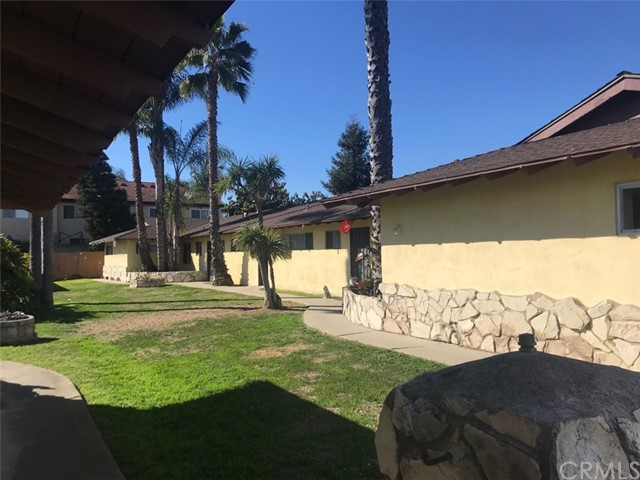 Fabulous opportunity to own 8 residential 2 bedroom 1 bath units in two buildings in a prime Huntington Beach rental area.  They are located at 17551 and 17561 Jefferson Lane.  These units are fully occupied with stable long term tenants. There is great upside potetial in the rents.  The buildings sit on separately deeded adjacent lots and are only being offered together as one complex.  Six of the units have good-sized private fenced yard areas, and the two end units enjoy substantially over-sized yards.  Several of the units have been upgraded with tile floors, granite counters and some double paned windows and sliding patio doors.  Each unit has its own carport, and there is additonal on-site parking. The parking area will be re-surfaced in the coming weeks.  One building houses the laundry room and the second has a storage area or the possibility for a second laundry.
