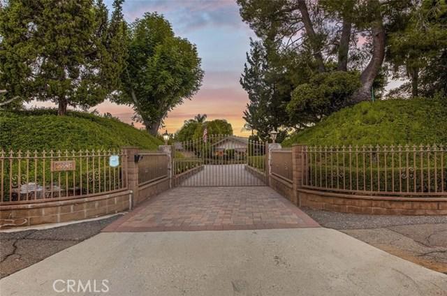 5553  Scenic View Drive, Yorba Linda, California