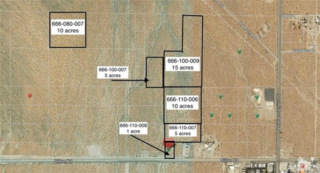 45 Acres W Of Indian On Dillon Rd, Desert Hot Springs, CA 92240