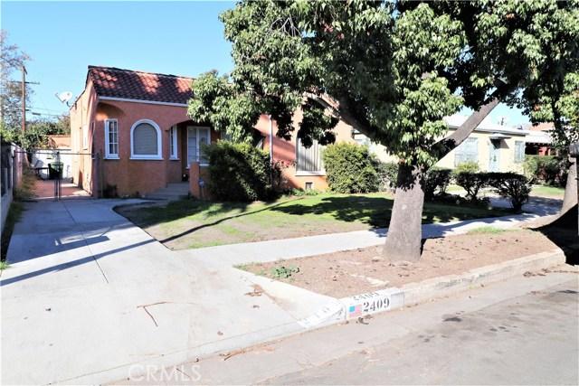 2409 Carmona Avenue, Los Angeles, CA 90016