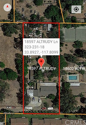 18597  Altrudy Lane 92886 - One of Cheapest Land and Lot Properties for Sale