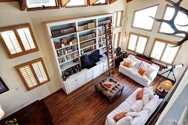 View of Living Room From Upper Bedroom Landing