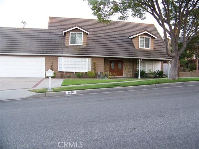 1820 E North Hills Drive, La Habra, CA 90631