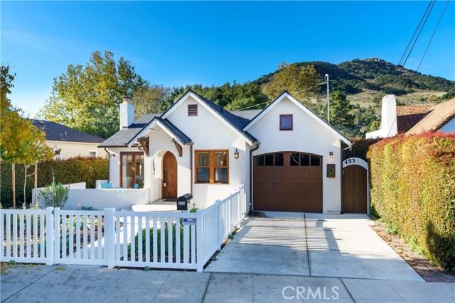453 Chorro Street, San Luis Obispo, CA 93405
