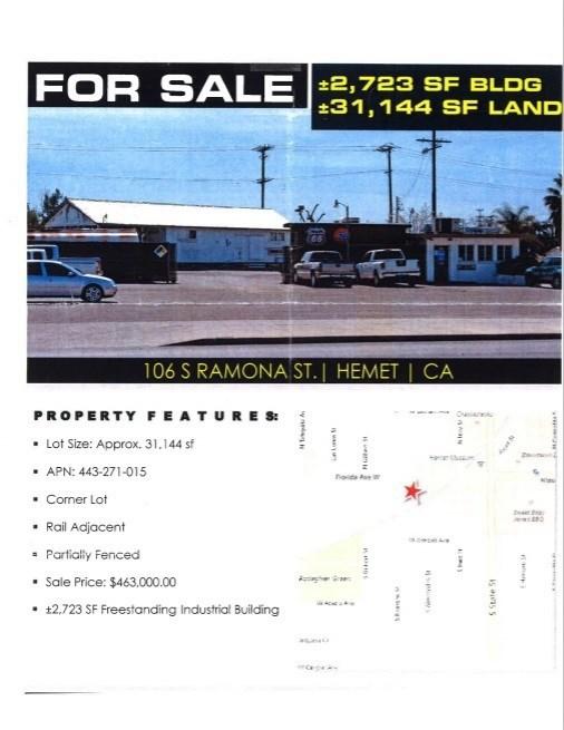 106 S Ramona Street, Hemet, CA 92543