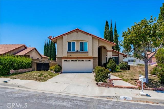 1431  Tierra Cima Avenue, Walnut, California