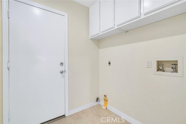 Individual laundry room