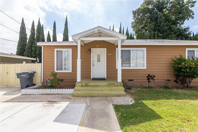 Great Investment Opportunity in the High in Demand City of Buena Park! Great curb appeal as you pull up to the white picket fence, property has been converted into Two separate living spaces. First unit offers 3 bed/2bath, remodeled kitchen, living room, dining area & indoor laundry room. Full master bedroom w/remodeled bathroom & walk-in closet. All bedrooms have high vaulted ceilings! Second unit offers 5 bed/3 bath, kitchen, dining space & separate laundry hookups outside. Lots of parking in your gated driveway plus 1 car detached garage. Each unit has abundant backyard space to entertain family & friends! Bonus features inc: Copper plumbing installed in 2009, Dual pane windows throughout, laminate flooring throughout & more! Property is located within RM-20 zoning, which permits for multifamily apartments & condominiums - subject to conditional use permit. Centrally located near The Source mall, Beach/Malvern plaza's, grocery stores, shopping, dining, entertainment, parks & easy 5/91 freeway commute! Don't miss this once in a lifetime opportunity!