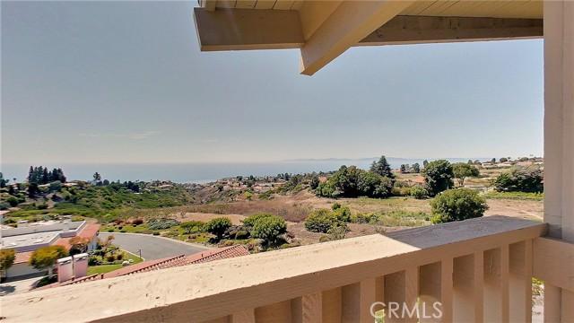View from the balcony toward Malibu