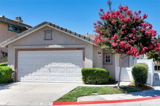 Adorable South Temecula single story in the gated community of Country Glen. The location couldn't be better - corner lot right across from the park & pool.  This charming 2 bedroom/2 bath is turnkey. All the work has already been done for you and is completely renovated.  New vinyl fence, wood laminate flooring throughout, baseboards, entire interior just painted, new dishwasher and microwave/hood, nest thermostat, faucets, light fixtures, toilets, water heater, blinds, outlets, smoke detectors and fresh landscaping. No maintenance back yard and the HOA maintains the front yard landscaping and includes sewer and trash.  HOA amenities include pool, jacuzzi, gated entrance with security patrol and a playground.  LOW TAXES & LOW HOA!  Country Glen is centrally located along Temecula Parkway close to Margarita Rd and is in walking distance to numerous shopping centers with grocery stores and directly across from Temecula Valley Hospital.  The property is tenant occupied until Dec at market rent. Tenant would like to stay if possible.