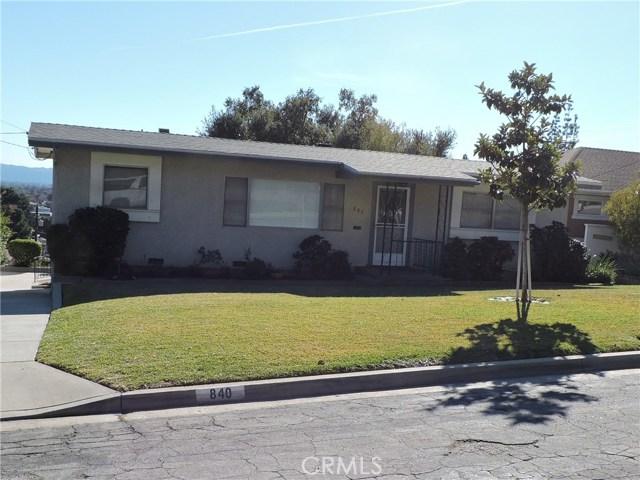 840 Crescent Drive, Monrovia, CA 91016