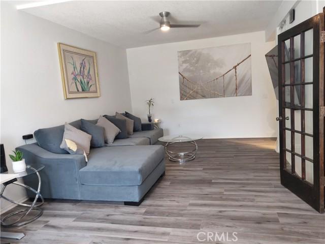 Lower level living room...