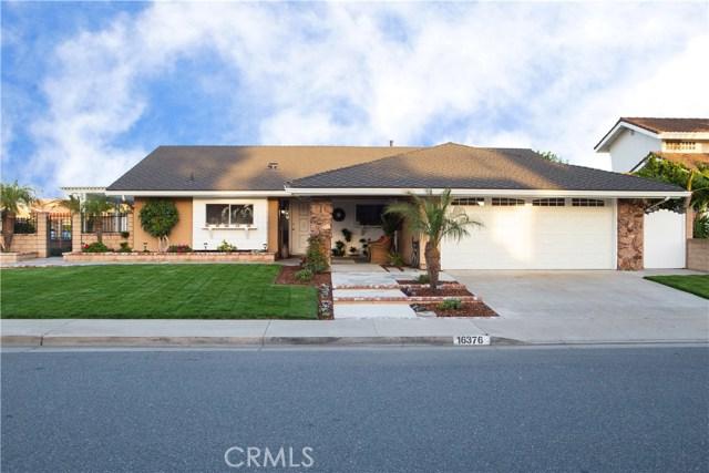 16376 Ponderosa Street, Fountain Valley, CA 92708