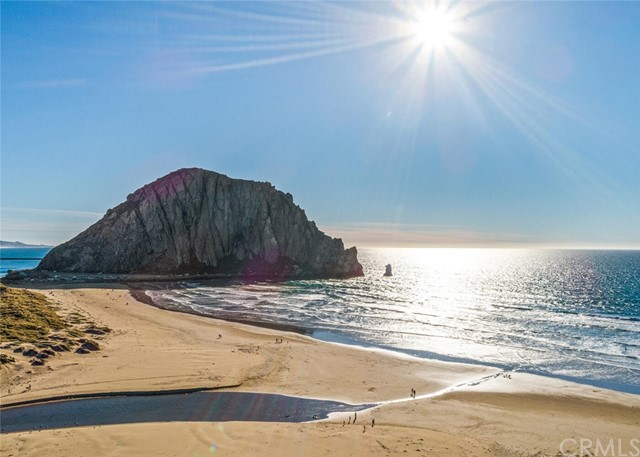 See Morro Rock from this stunning property!