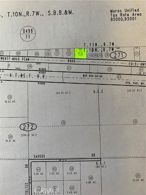 0 Twenty Mule Team Road, Kramer Junction, CA 93516