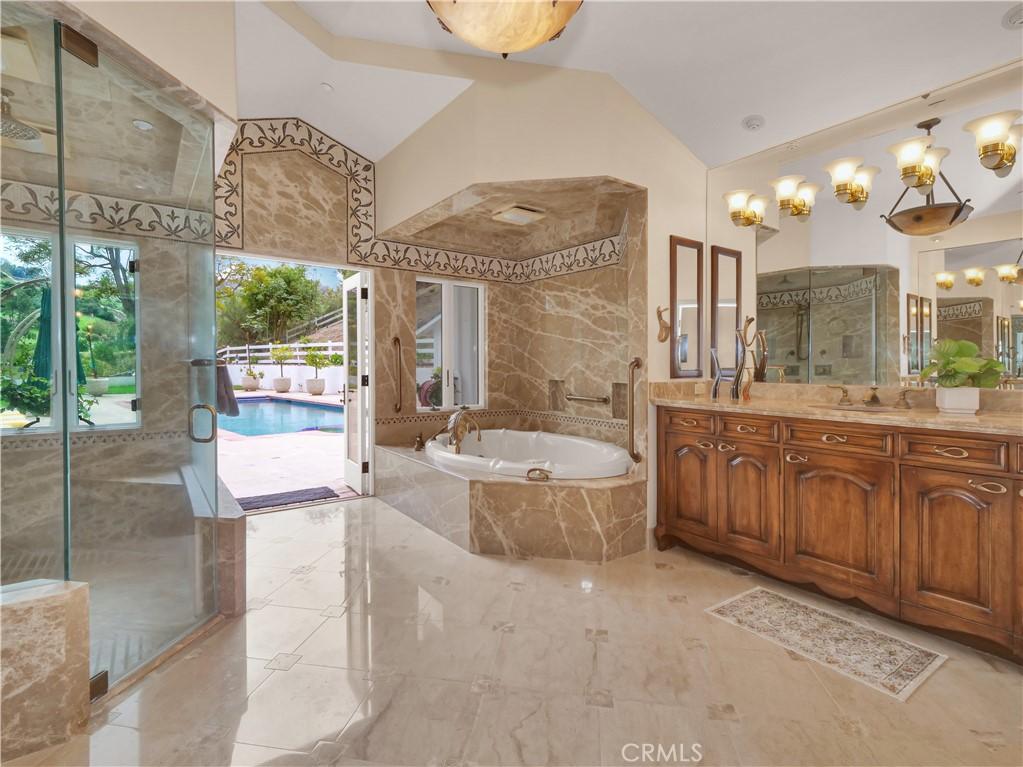 Master Suite with walk-in closet & bathroom