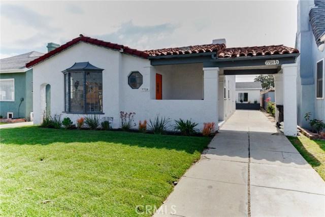 7718 S Hobart Boulevard, Los Angeles, CA 90047