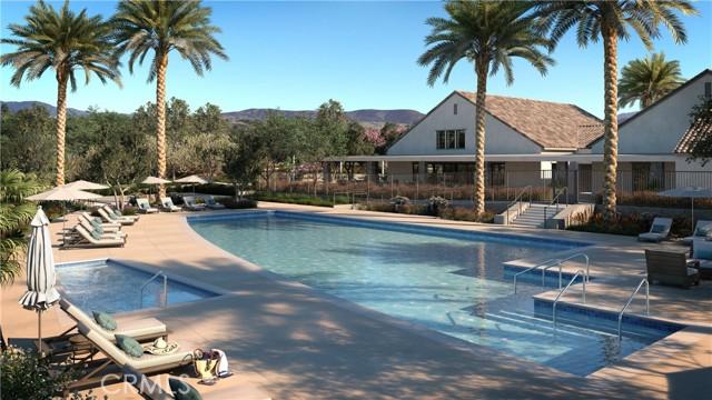 Esplanade Resort Style Pool rendering.