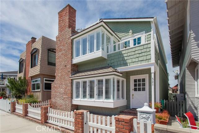 325 Alvarado Place | Balboa Peninsula (Residential) (BALP) | Newport Beach CA