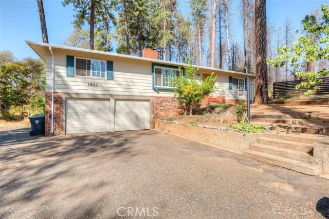 1603 Sylvan Way, Paradise, CA 95969