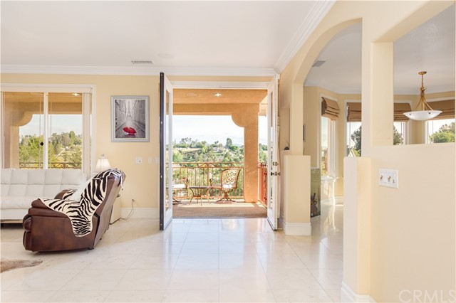 Balcony located off 2nd Level Family Room. Beautiful Views to enjoy your Temecula Award Winning Wines.
