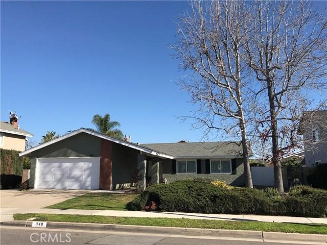 349 S Tracy Lane, Orange, CA 92869
