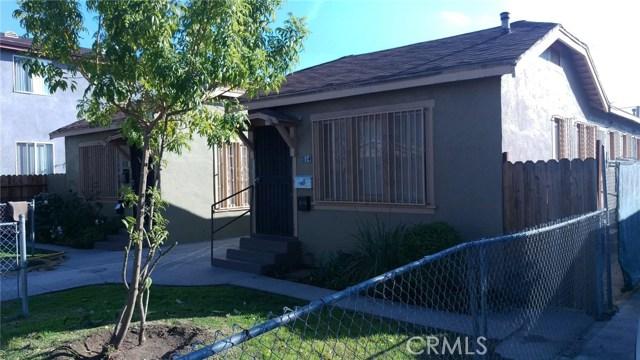 812 W 65th Street, Los Angeles, CA 90044
