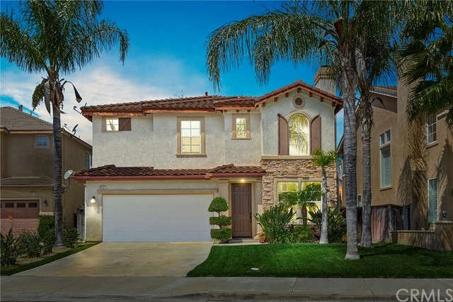 Welcome to 45327 Aguila Court in South Temecula! Nestled in a hidden cul-de-sac above the well-known Redhawk waterfall & walking distance to Great Oak High School, this turnkey 2,232 sq. foot home offers 3 bedrooms, 2.5 baths, a brand new HVAC system, formal living room, large kitchen, open family room, spacious master bedroom suite w/ dual sinks, soaking tub & large walk-in closet; junior bedrooms w/ Jack & Jill bathroom between, upstairs tech center, individual laundry room, private backyard & 2 car garage. Interior features include laminate wood, tile flooring and neutral carpet; custom paint throughout; crown moulding; large windows; living room fireplace; media niche in family room; paneled doors; & recessed lighting. Plus, the kitchen boasts granite counters, 5 burner cook top, a large walk-in pantry, fresh white cabinets and custom tile back splash. The private, low maintenance backyard has a concrete patio and Aluma-wood cover. Aguila Court is located near highly sought after schools, many shopping centers, & with freeway access nearby. And, don't forget Temecula's famous attractions such as Pechanga Casino, the wine country, & Old Town which are just a few miles away. All this, low taxes, & no HOA too!