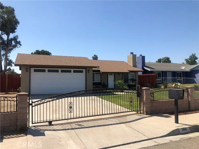 568 N N Macy Street, San Bernardino, CA 92410