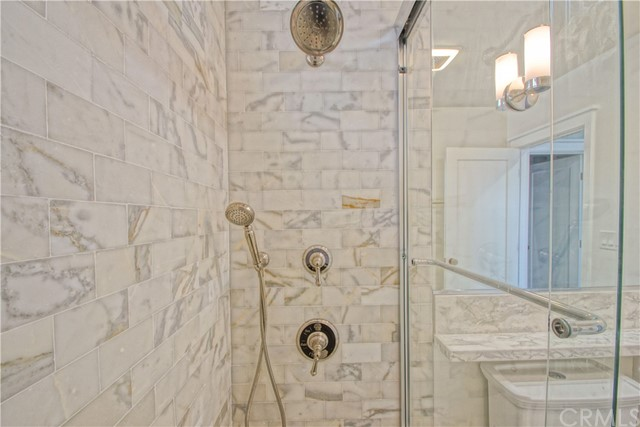 Beautiful, custom remodel of the bathroom...down to the studs.