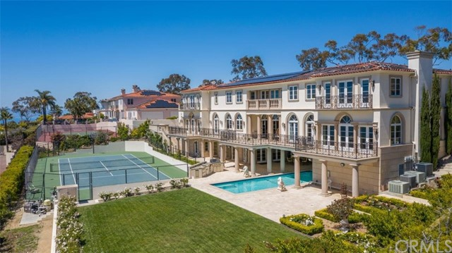 Grand Mansion with Tennis Court, Pool & Grassy Area
